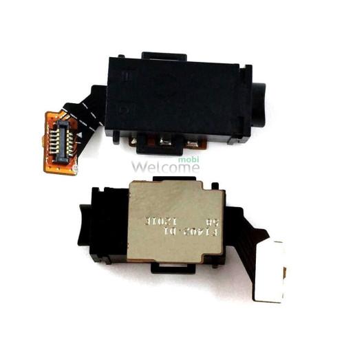 Шлейф Sony E2333 M4 Aqua Dual/E2312/E2306/E2303 з мікрофоном та аудіо роз`ємом