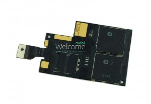 Шлейф HTC Desire 709d with sim connector (CDMA)
