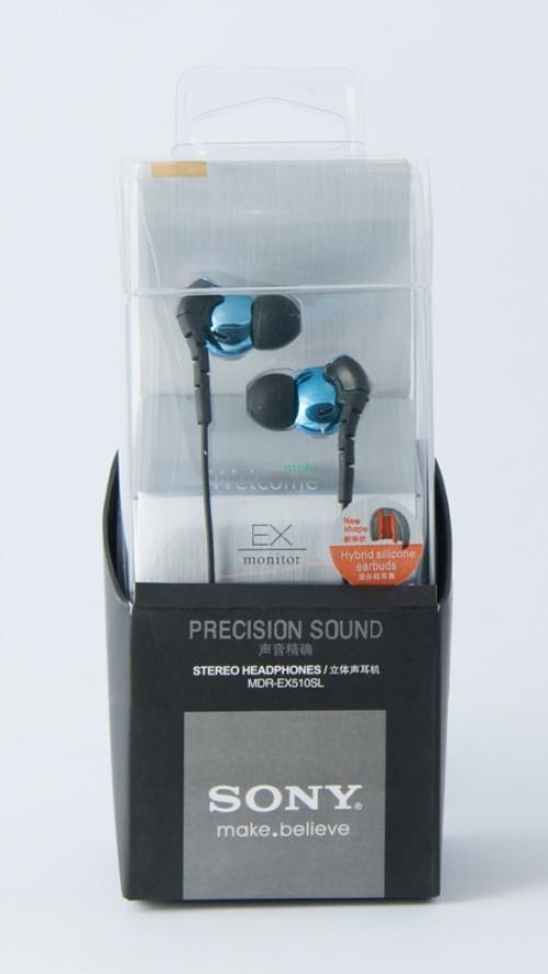 Навушники вакуумні Sony make.believe MDR-EX510SL blue