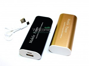 Внешний аккумулятор (power bank) 8800mAh Mobile Power USB(1A) black,gold,silver