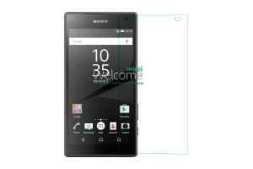 Скло Sony E5823 Xperia Z5 Compact (0.3 мм, 2.5D, с олеофобним покриттям)