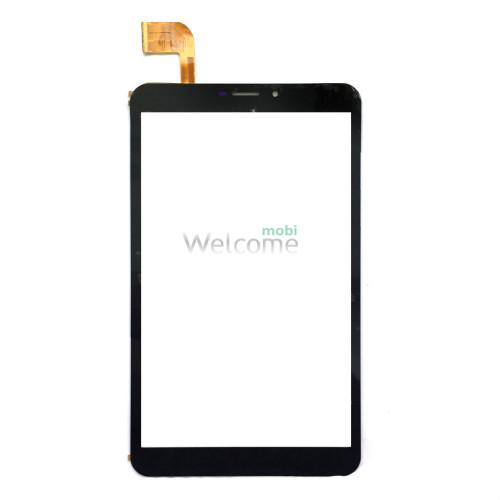 Сенсор к планшету Bravis (204*120) 51 pin 8 NB85 3G(тип 2),Pixus Touch 8 3G black