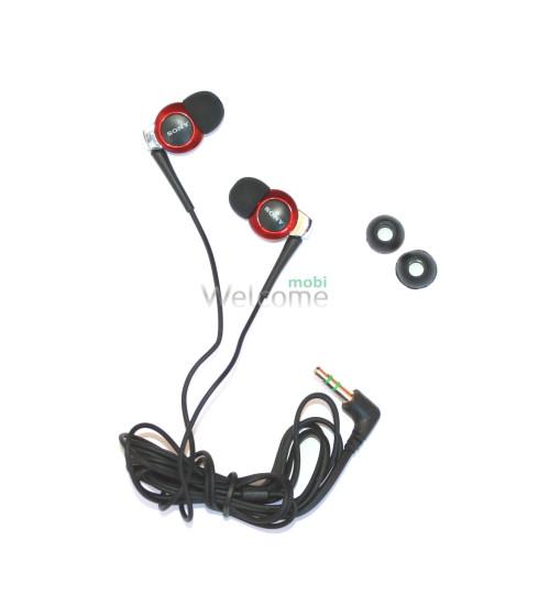 Навушники вакуумні Sony Perfect MDR-EX300SL red
