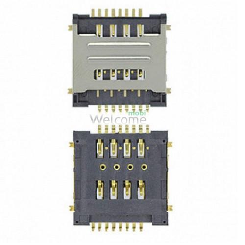 Коннектор sim Lenovo A520,A580,A690,A780,A800,S720