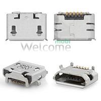 Конектор зарядки  Lenovo A2109/A1-07/Asus ME170(K017) (5 шт.)