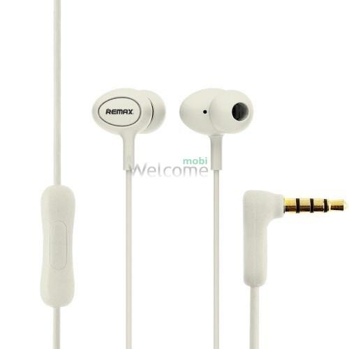Навушники вакуумні Remax 515 гарнітура white