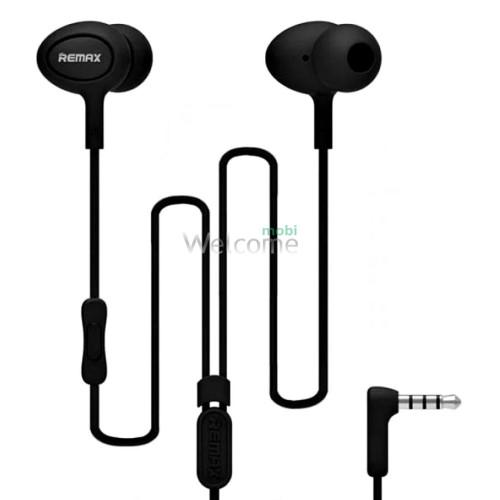 Навушники вакуумні Remax 515 гарнітура black