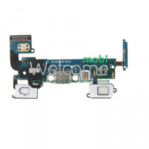 Шлейф Samsung A500F Galaxy A5 Duos/A500H with charge connector and components