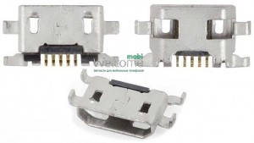 Конектор зарядки Motorola XT1062 Moto G2/Alcatel One Touch 4015/One Touch 6012 Idol Mini Sate (5 шт)