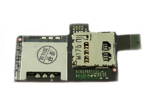 Коннектор sim HTC Z710e G14,Z715e G18