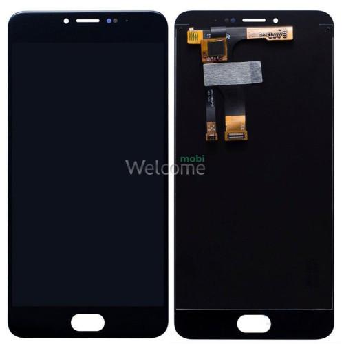Дисплей Meizu M3 Note в зборі з сенсором black orig (версія M681h)