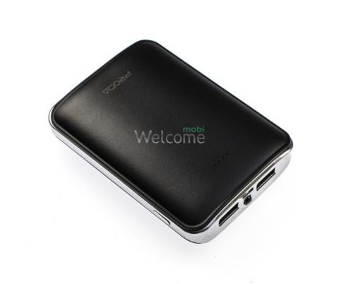 Зовнішній акумулятор (power bank) Proda Mink PPL-22 Remax 10000Ah black