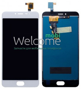 Дисплей Meizu M3S with touchscreen white orig (FPC-5011-REV.2) (LCD TEST)