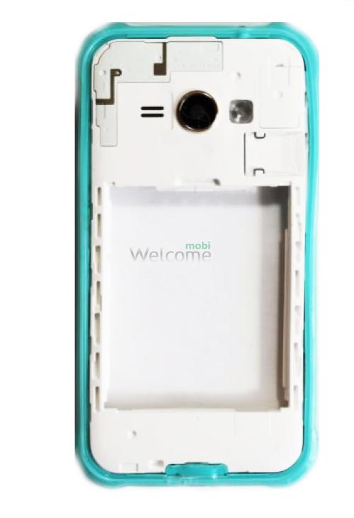 Середня частина корпуса Samsung J110H Galaxy J1 green
