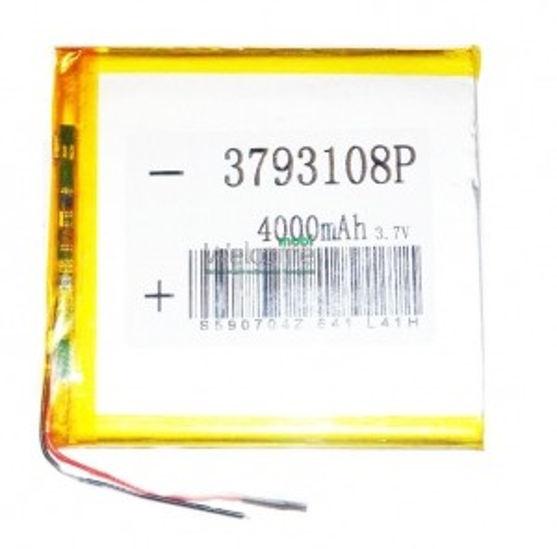 АКБ для планшета 3.7*93*108мм (4000 mAh)