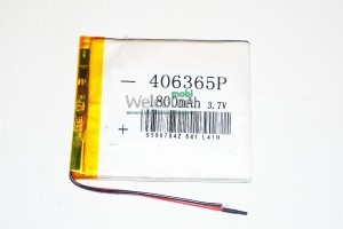 АКБ для планшета 4.0*63*65мм (1800 mAh)