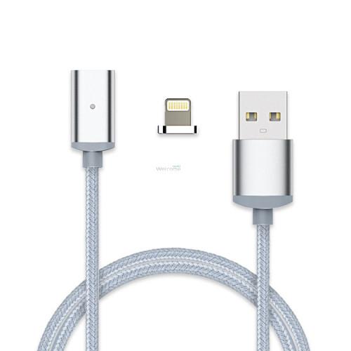 USB кабель магнітний метал 2.0 AF iPhone 5, 1м
