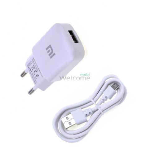 МЗП Xiaomi 2in1 (adap+cab) 2,0A white