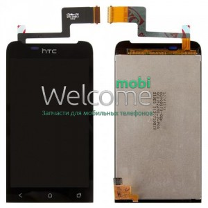 Дисплей HTC T320e One V/G24 with touchscreen black orig