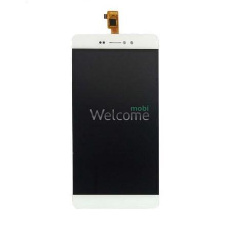 Дисплей Bravis A505 Joy Plus в зборі з сенсором white