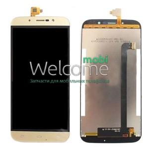 Дисплей Bravis A553 Discovery/Umi Rome X with touchscreen gold