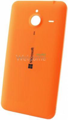 Задня кришка Microsoft 640 XL Lumia Dual Sim (RM-1062/RM-1065) orange