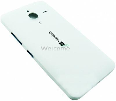 Задня кришка Microsoft 640 XL Lumia Dual Sim (RM-1062/RM-1065) white