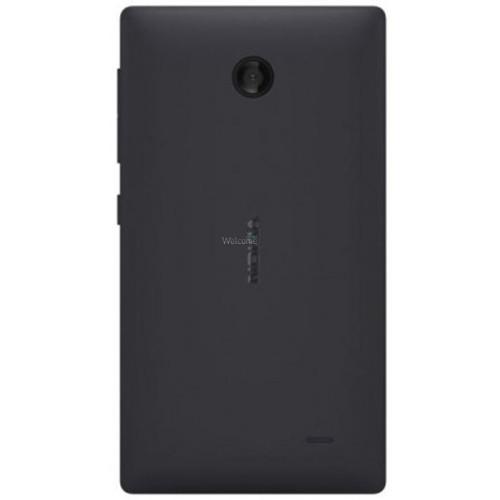 Задня кришка Nokia X Dual Sim (RM-980) black