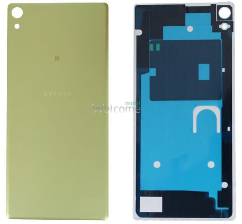 Задня кришка Sony F3211 Xperia XA Ultra/F3212/F3215/F3216 gold