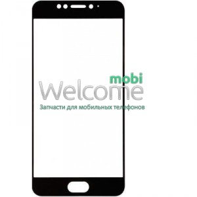 Скло корпусу Meizu MX6 black orig