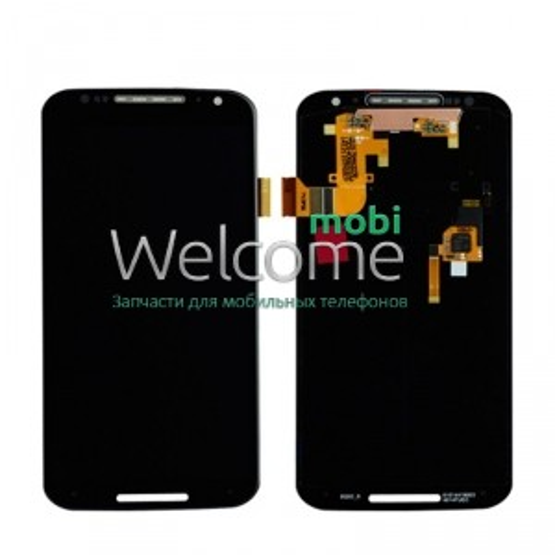 Дисплей Motorola XT1092 Moto X (2nd Gen)/XT1093/XT1094/XT1095 в зборі з сенсором black
