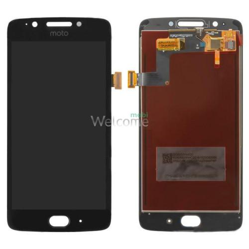 Дисплей Motorola XT1670 Moto G5/XT1672/XT1675/XT1676 в зборі з сенсором black