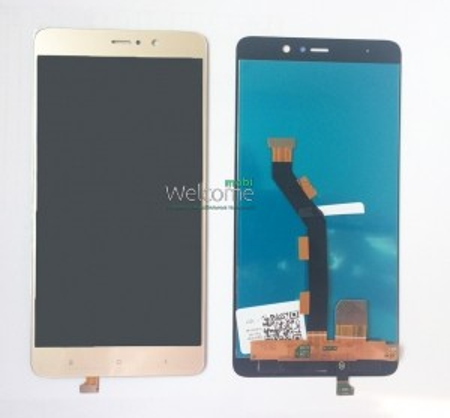Дисплей Xiaomi Mi5s Plus gold with touchscreen