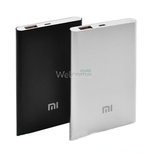 Зовнішній акумулятор (power bank) MI Slim 6000mAh USB(2A)