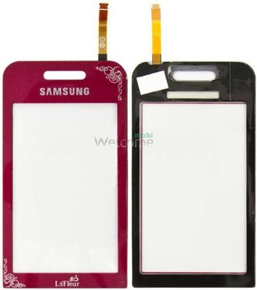 Сенсор Samsung S5230 La Fleur Red high copy