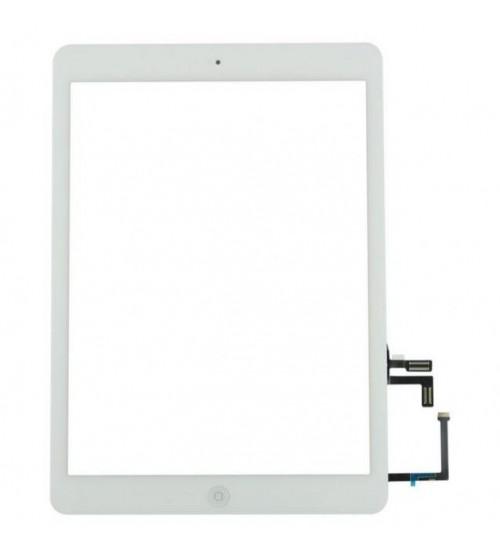 iPad 2017 touchscreen+home button+flex white high copy