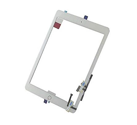 iPad 2017 touchscreen+home button+flex white
