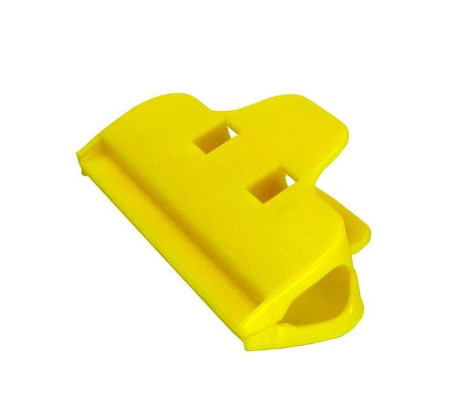 Зажим-прищепка широкий (100 мм) для фиксации дисплейного комплекта в корпусе при склеивании