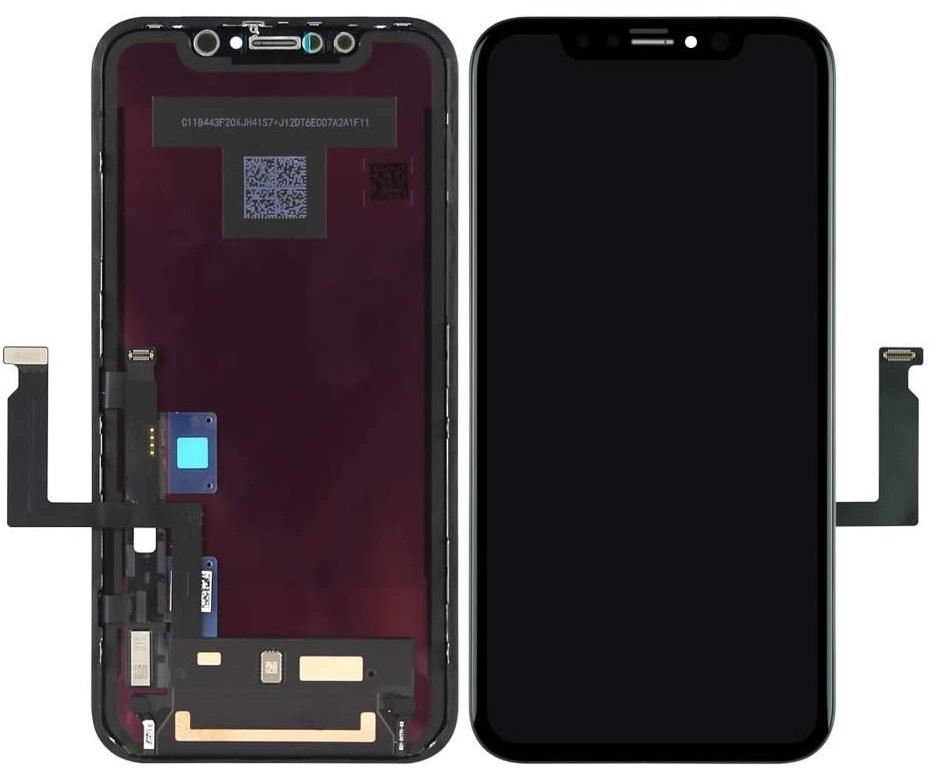 iPhoneXR LCD+сенсор черный  A+