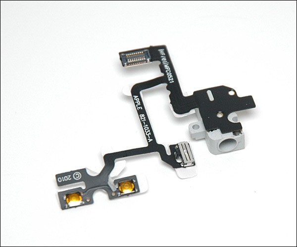 iPhone4G audio jack flex cable white