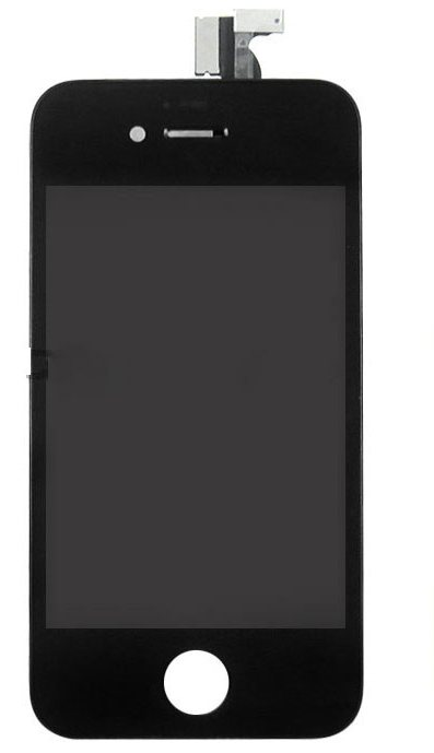 iPhone4S LCD with touchscreen and frame black high copy (TEST)