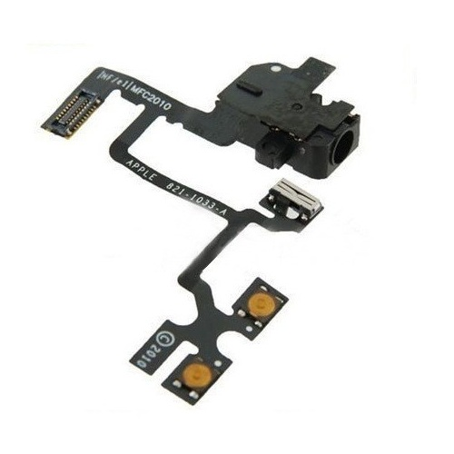 iPhone4G audio jack flex cable black