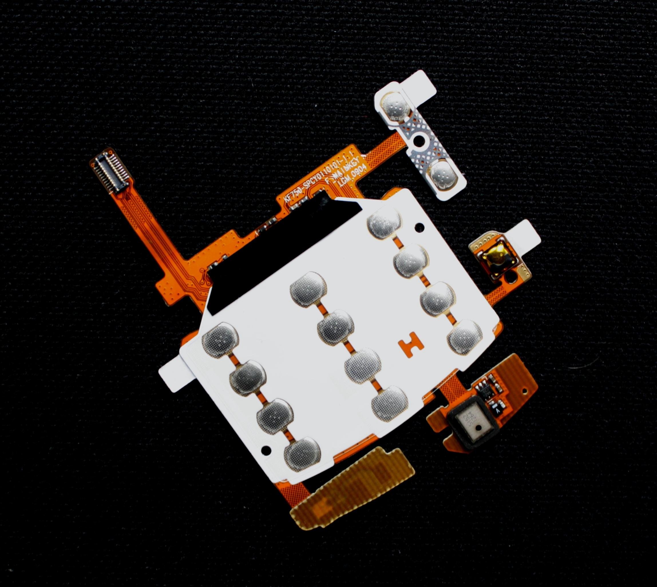 Keypad module LG KF750 down