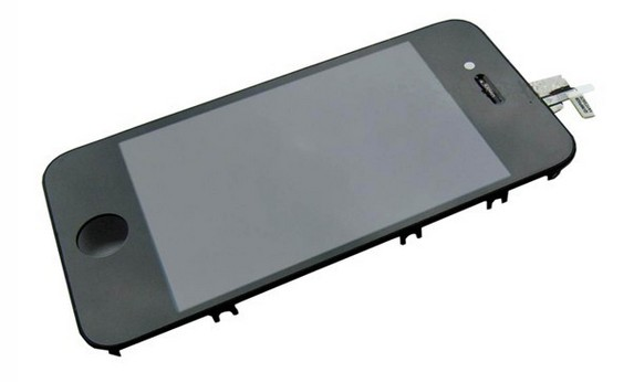 iPhone4G LCD with touch and frame black full  (TEST)