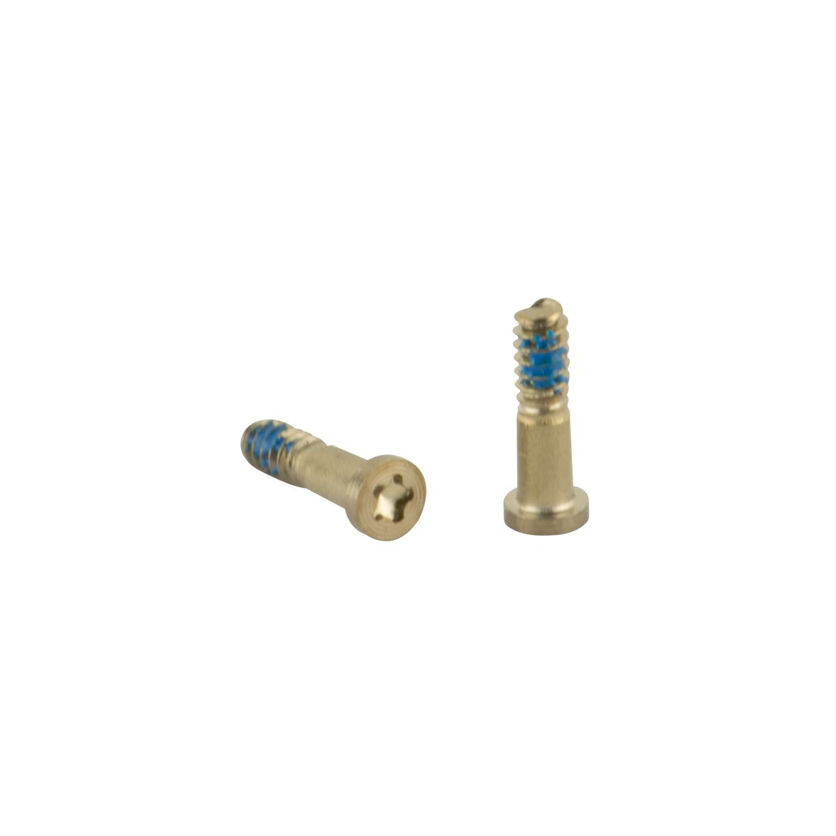 Iphone5S,iPhone5,iPhone SE screws set gold 2pcs