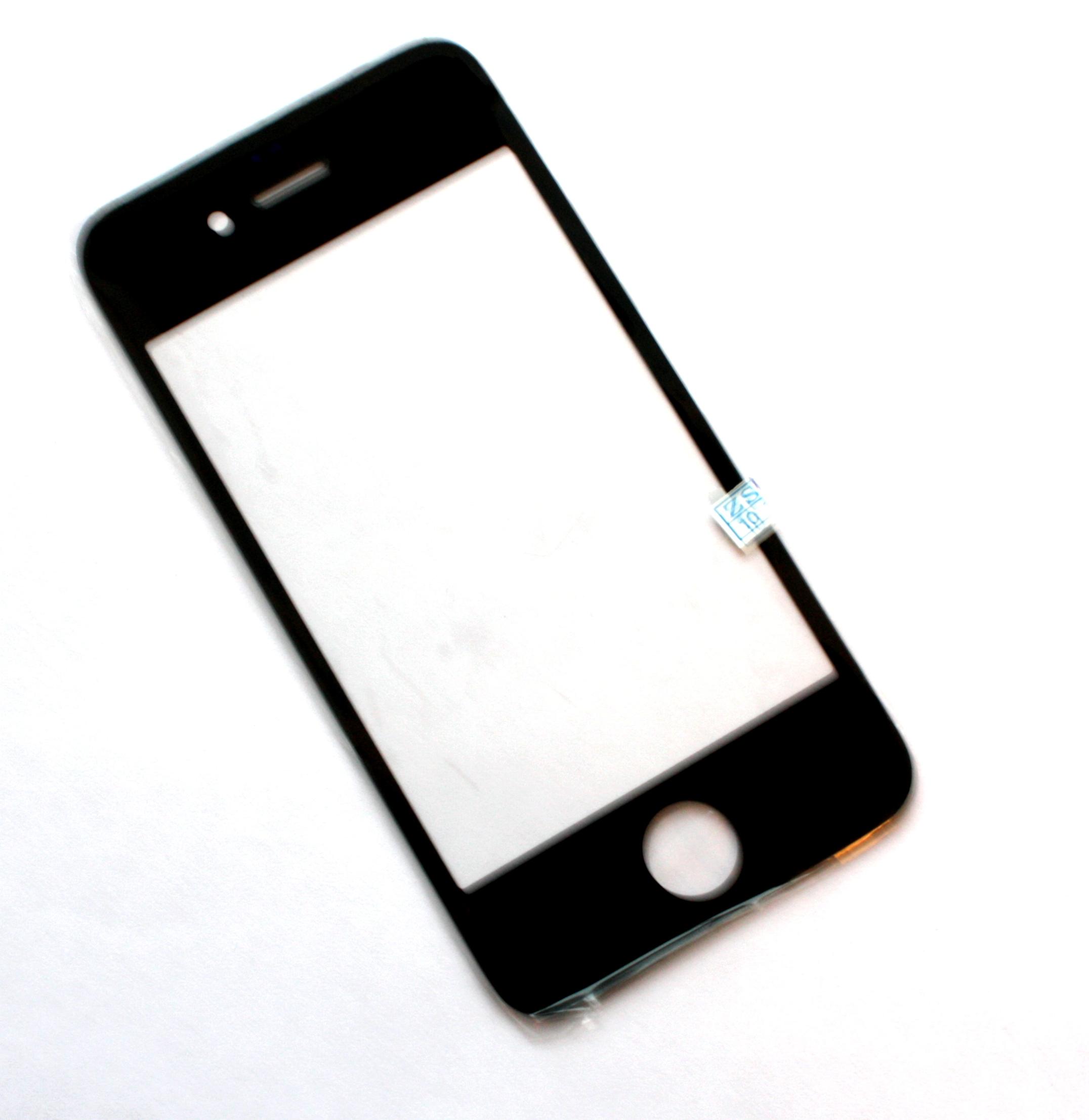 Iphone4G,4S стекло black