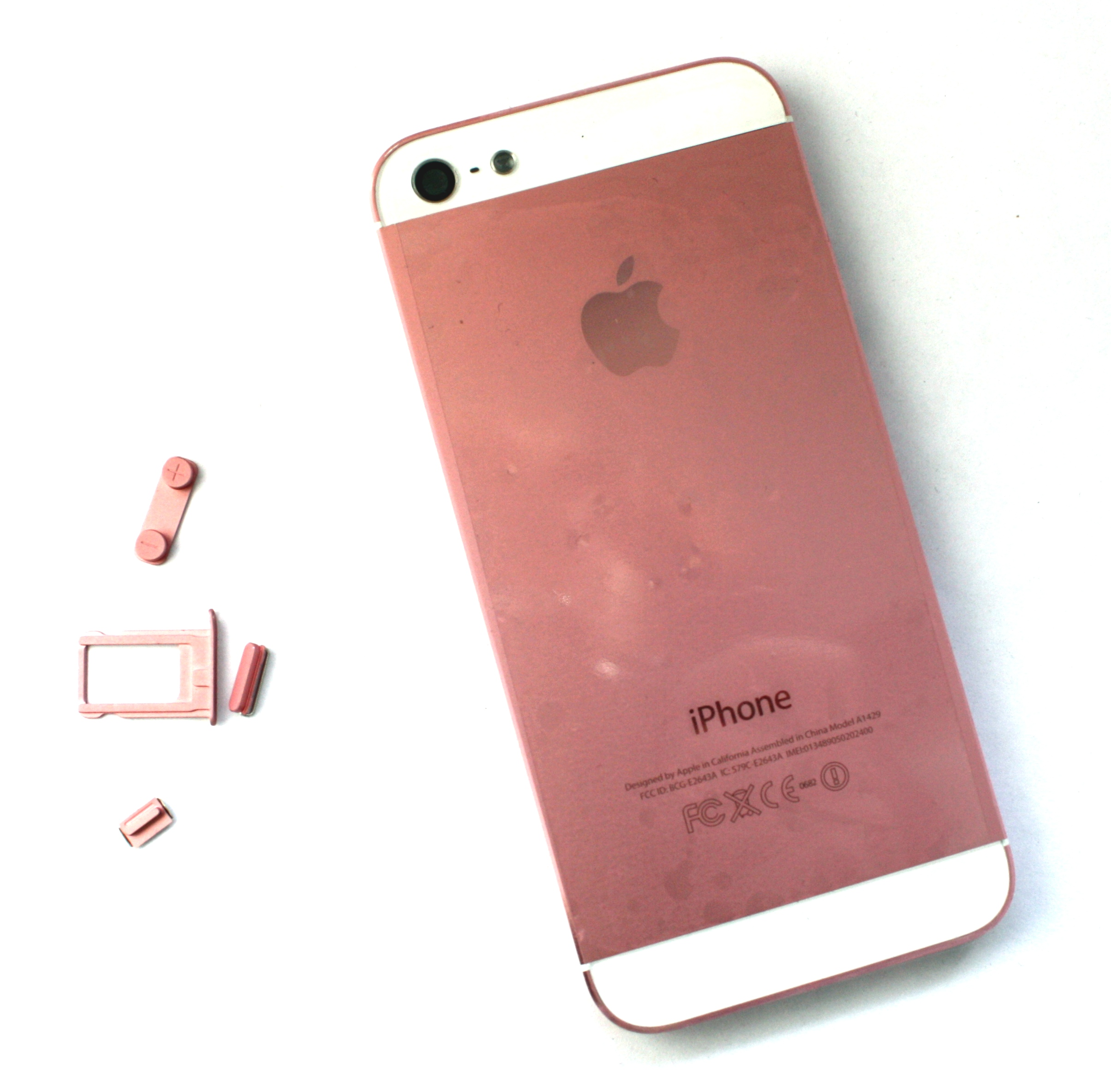 Iphone5 back cover pink