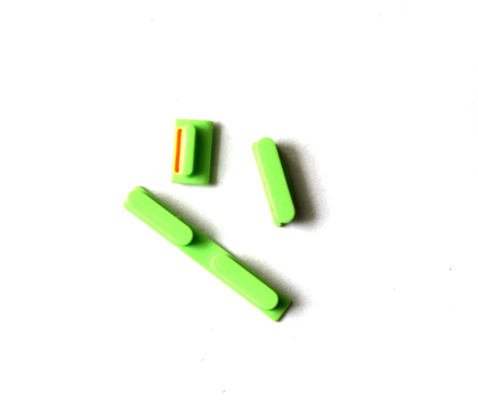 iPhone5C volume key+power key+mute key green