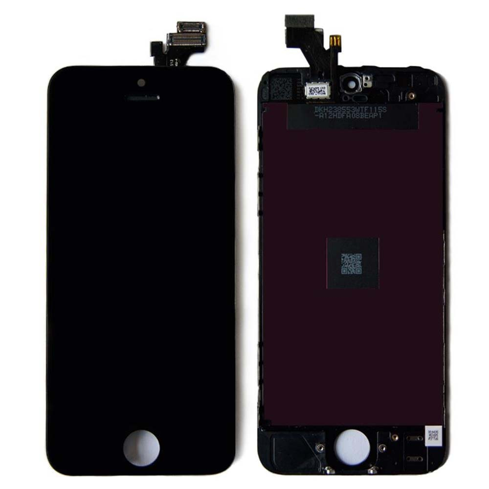 Iphone5 LCD+touchscreen black high copy (TEST)