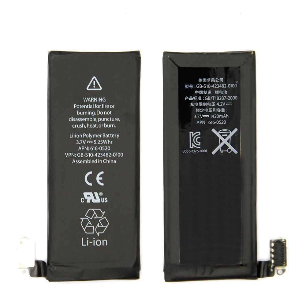 iPhone4G battery (1420 мАч)